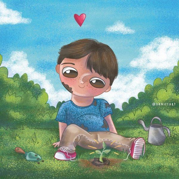 """un audio cuento para niños que los ayuda a sobrellevar el duelo """"Siempre aquî"""""""